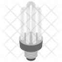Energy Saver Bulb Light Icon