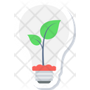 Energy Saving Bulb Fluorescent Icon