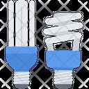 Energy Saving Light Icon
