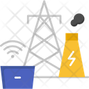 Energy Sector Automation Energy Icon