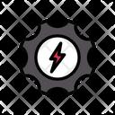 Energy Setting Icon