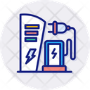 Energy Station Charging Station Electric Icon