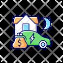 Energy Tariff Charging Icon
