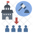 Enforcement Force Government Icon