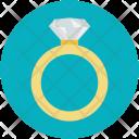 Engagement Ring Diamond Icon