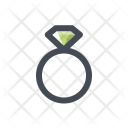 Engagement Ring Jewelry Icon