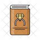 Book Ring Engagement Icon