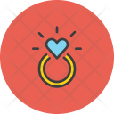 Engagement Ring Heart Icon