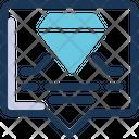 Engagement Diamond Chat Icon