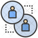 Engagement Relation Substitution Icon