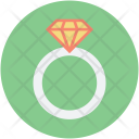 Engagement Ring Jewelery Icon