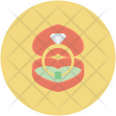 Engagement Ring Box Icon