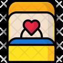 Engagement box Icon