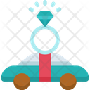 Car Ring Wedding Icon