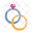 Ring Diamond Love Icon