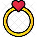 Ring Valentine Love Icon