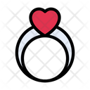 Ring Engagement Marriage Icon