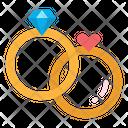 Love Wedding Ring Icon