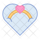 Engagement Ring Gift Icon