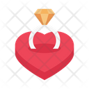 Ring Engagement Wedding Icon