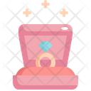 Ring Box Love Icon