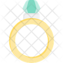 Ring Engagement Diamond Icon