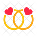 Engagement Ring Couple Icon
