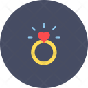 Engagement Ring Marriage Icon