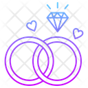 Engagement Ring Love Icon