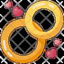 Rings Wedding Shen Ring Icon