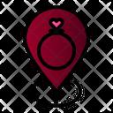 Ring Location Love Icon