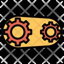 Cog Cog Wheels Belt Icon