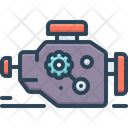 Engine Motor Machine Icon