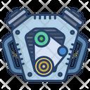Engine Engine Belt Car Icon