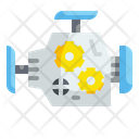 Engine Turbo Motor Icon