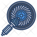 Engine Gear Engine Gear Icon