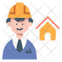 House Engineer Engineer Builder Icon
