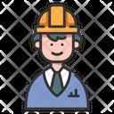 Engineer Civil Engineer Avatar Icon