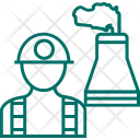 Worker Engineer Production Icon
