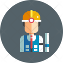 Engineer Worker Avatar Icon