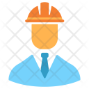 Engineer Worker Constructor Icon