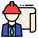 Safty Engineer Architect Icon