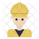 Engineer Foreman Construction Icon