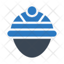 Engineer Worker Helmet Icon