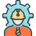 Engineer Architecture Contractor Icon