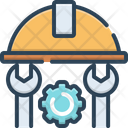 Engineer Tool Machinist Icon
