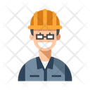 Engineer Worker Occupation Icon