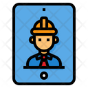 Tablet Smartphone Engineer Icon