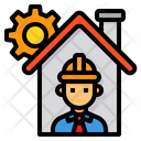 Engineer Construction Architecture Icon