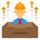 Engineer Box Construction Icon